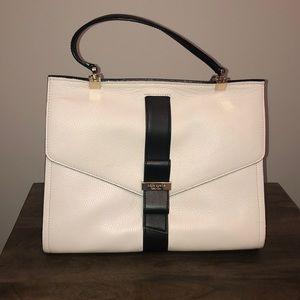 Kate Spade white and black bag